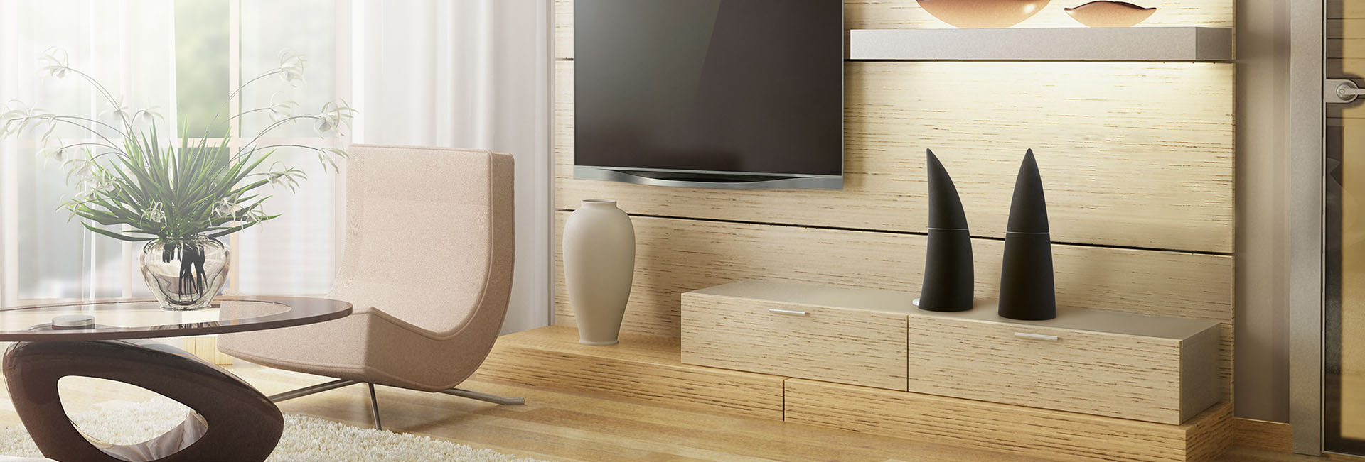 SPEAKERS FOR TV AND LIVING ROOMS